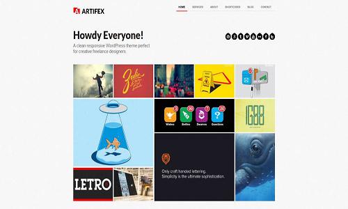 artifex pro wordpress theme