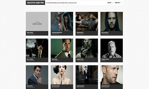 creativegrid wordpress theme