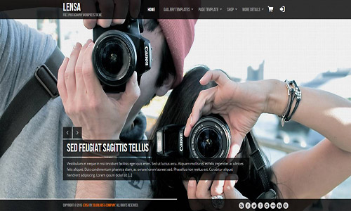 lensa wordpress theme
