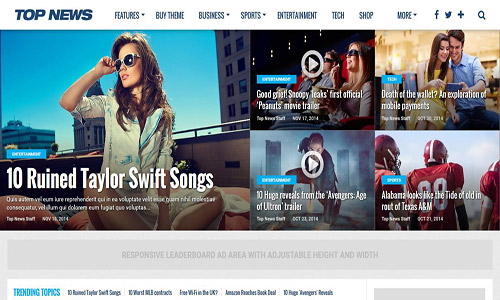 top news wordpress theme
