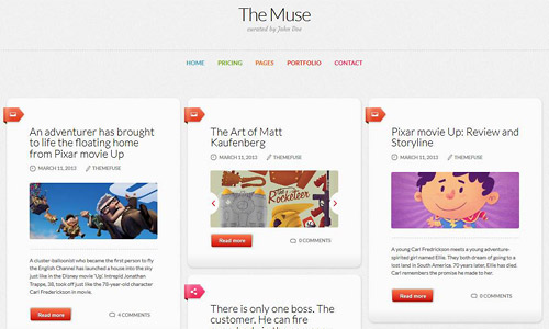 the muse wordpress theme
