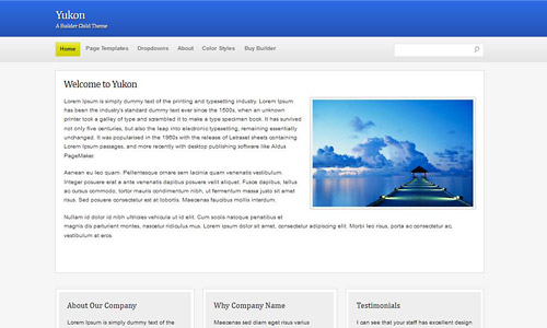 yukon wordpress theme