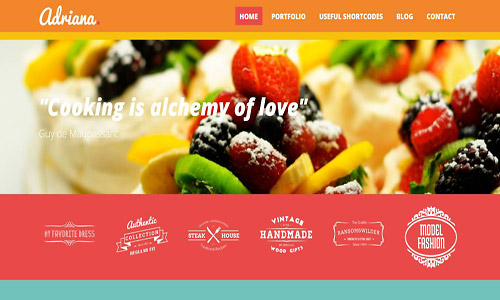 adriana wordpress theme