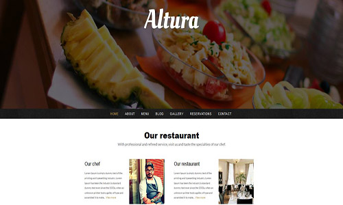 altura wordpress theme