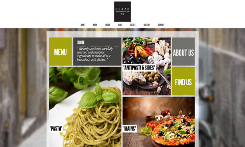 glaze wordpress theme