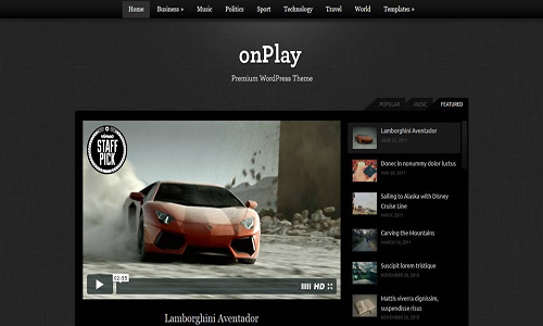 onplay wordpress theme