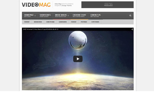 videomag wordpress theme