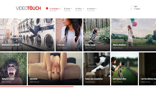 videotouch wordpress theme