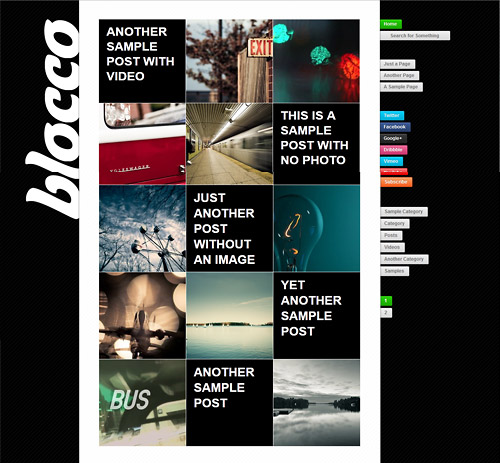 blocco wordpress theme