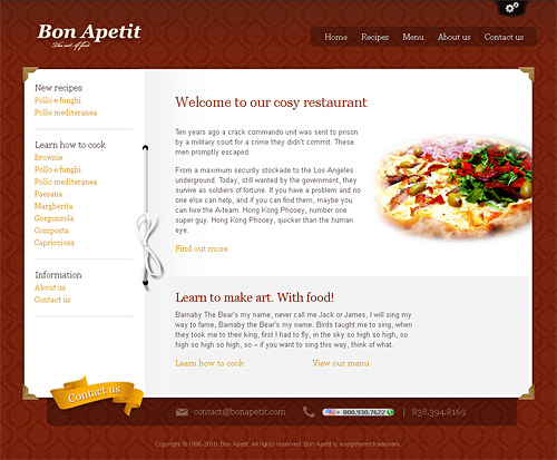 bon apetit wordpress theme