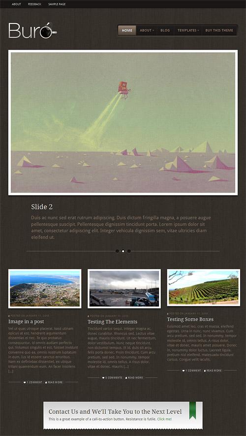 buro wordpress theme