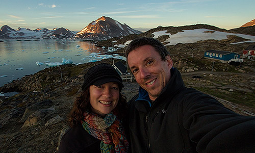 dalene and peter heck of hecktic travels