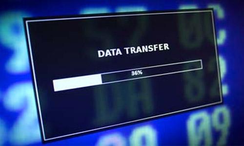 data transfer bandwidth