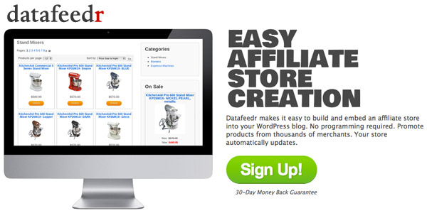 Datafeedr review best affiliate store plugin in for Product review template wordpress