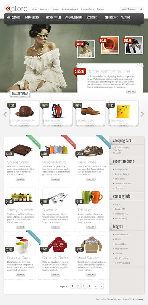 eStore-wordpress-theme