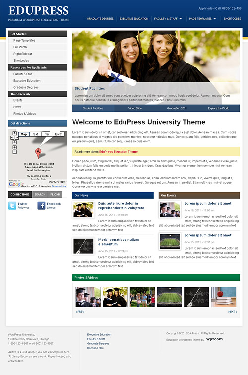 edu press wordpress theme