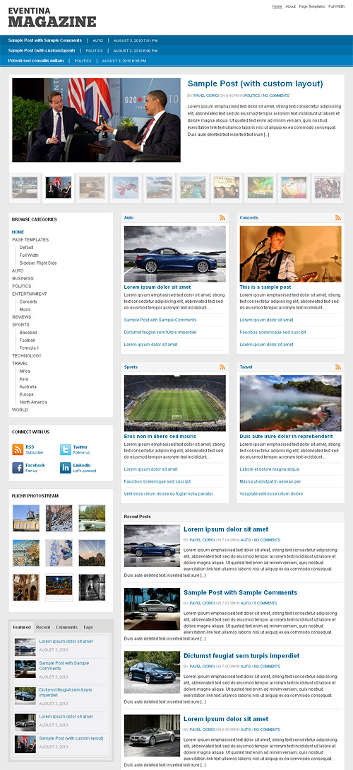 eventina wordpress theme