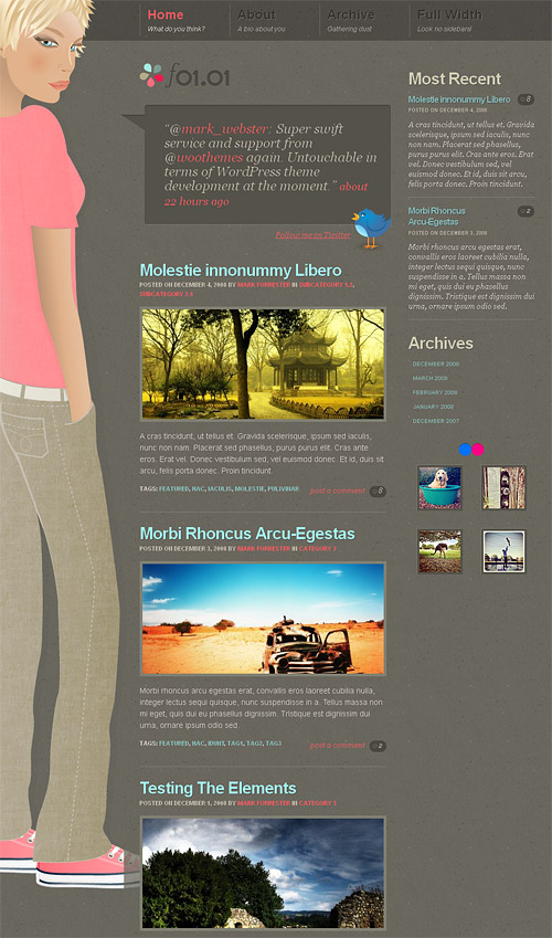 f0101 wordpress theme