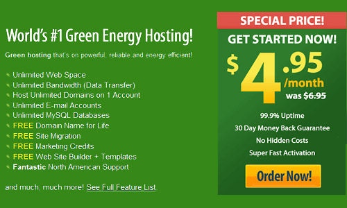 introducing green web hosting