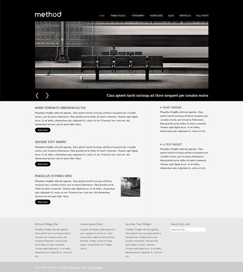 method wordpress theme