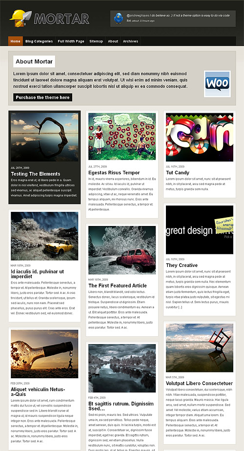 mortar wordpress theme