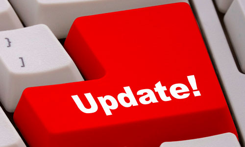 webpage update