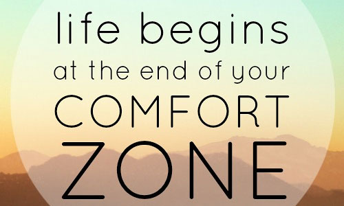 establish comfort zone