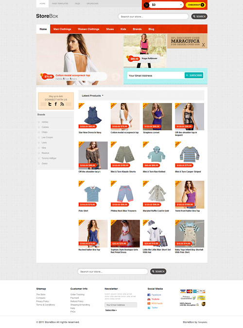 store box wordpress theme