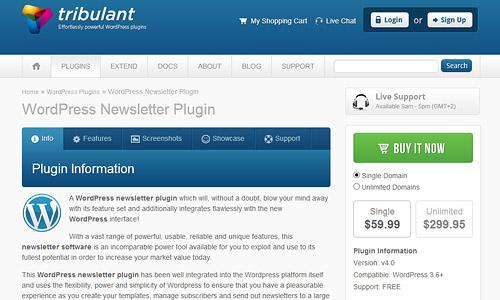 tribulant wordpress plugin