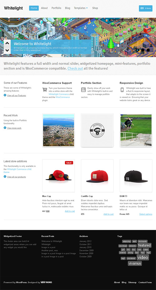 whitelight wordpress theme