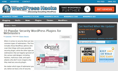 wordpress hacks com