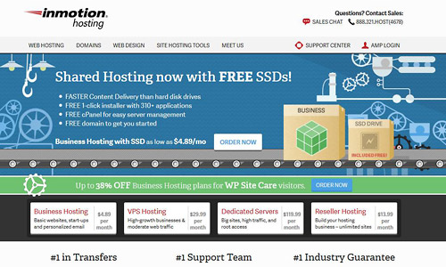inmotionhosting web hosting