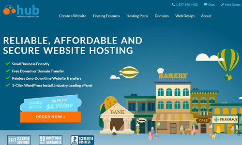 wordpress web hosting webhostinghub
