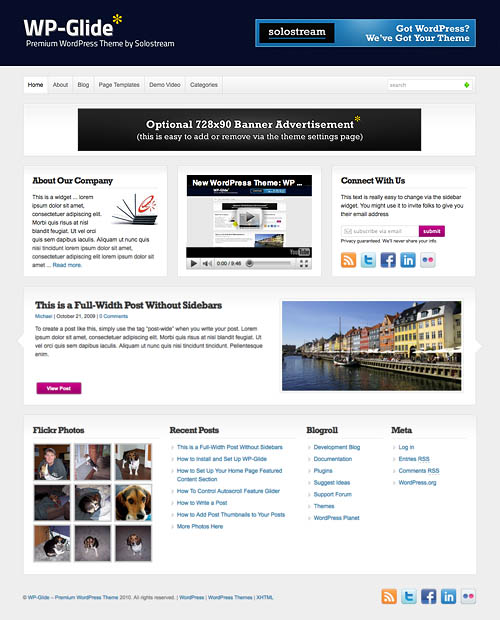 wp glide wordpress theme