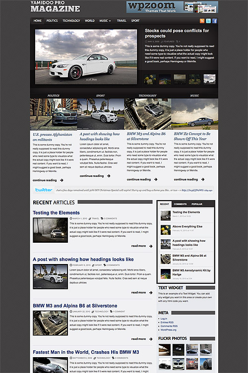 yamidoo pro wordpress theme